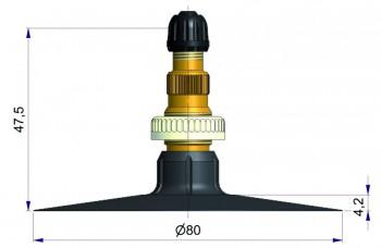 Вентиль тракторный камерный S-4046-2