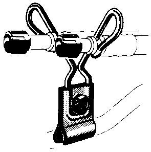 Зажимы для гибких удлинителей R-1431-3