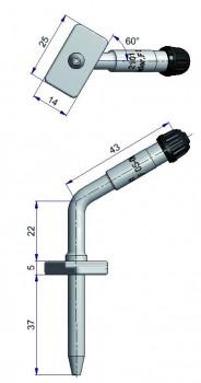 Вентиль регулирующий фланцевый  R-2101-2